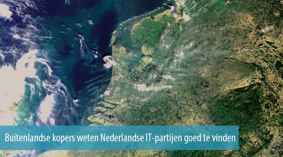 Foreign buyers know how to find Dutch IT parties