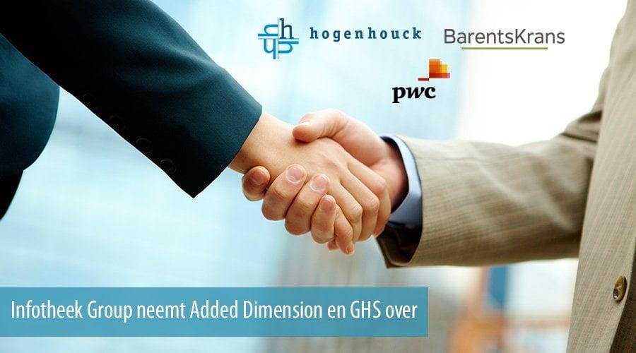 Hogenhouck, BarentsKrans en PwC begeleiden Infotheek Group overnames