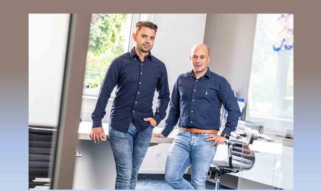Skyberate Jeffrey Brussen en Sander Dingen